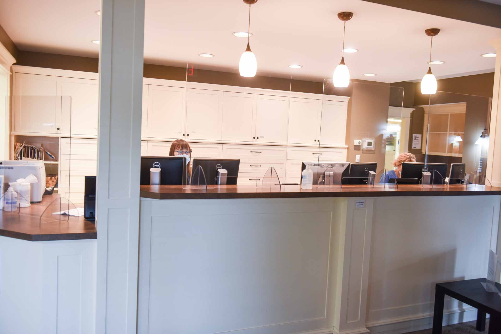 Reception Area | COVID Protocol | Scenic Acres Dental Centre | NW Calgary | General Dentist